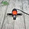 GN ретро мотоцикл модифицированный LED CE алюминиевый сплав задний фонарь номерной знак стоп-сигнал EMARK