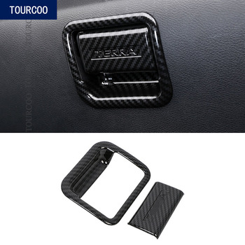 For Nissan Terra 2018 Glove Box Door Handle Bowl Cover Trim Car Styling Modification Accessories image