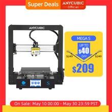 Anycubicメガ-sメガs 3DプリンタI3メガアップグレード大サイズtpu高精度タッチスクリーンdiy 3Dプリンタキットimpressora 3d