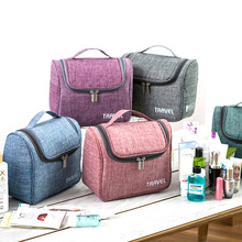 High Quality Travel Wash Gargle Bag Waterproof Toiletry Organizer Portable Storage Bags Big capacity Makeup Bag недорого