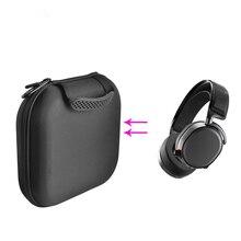 Eva dura bolsa de armazenamento caso de transporte para sony WH CH700n MDR 1AM2 ATH MSR7 fone de ouvido