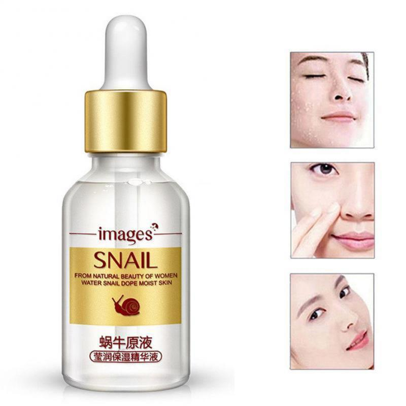 1 Pc Snail Extract Serum Face Essence Hyaluronic Acid Anti Aging Collagen Face Serum Whitening Moisturizing Essence TSLM2