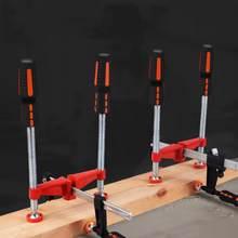 Pince pour le travail du bois, robuste, à Double broche, à bord parallèle, pour pince de menuiserie en fonte, accessoires de pince F