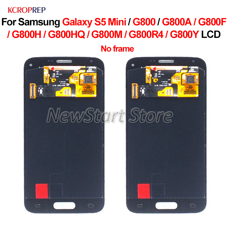 For <font><b>Samsung</b></font> Galaxy S5 Mini G800 G800A <font><b>G800F</b></font> G800H G800HQ G800M G800R4 G800Y LCD <font><b>Display</b></font> Touch Screen Digitizer Assembly 4.5