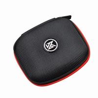 KZ-Bolsa de almacenamiento portátil para auriculares, bolso de almacenamiento de casco