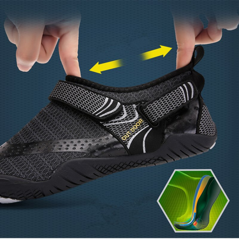 Outdoor Beach Water Shoes Men&Women Aqua Shoes Quick-dry Lightweight Breathable Rubber  Outdoor Professional Water Sports Sneake 4