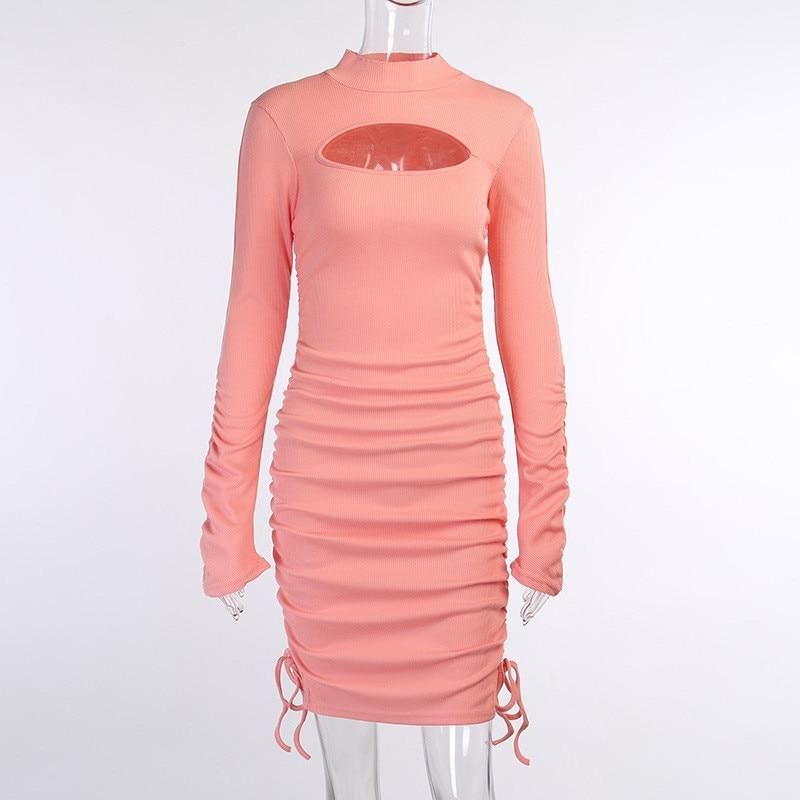 knitting turtleneck dress09
