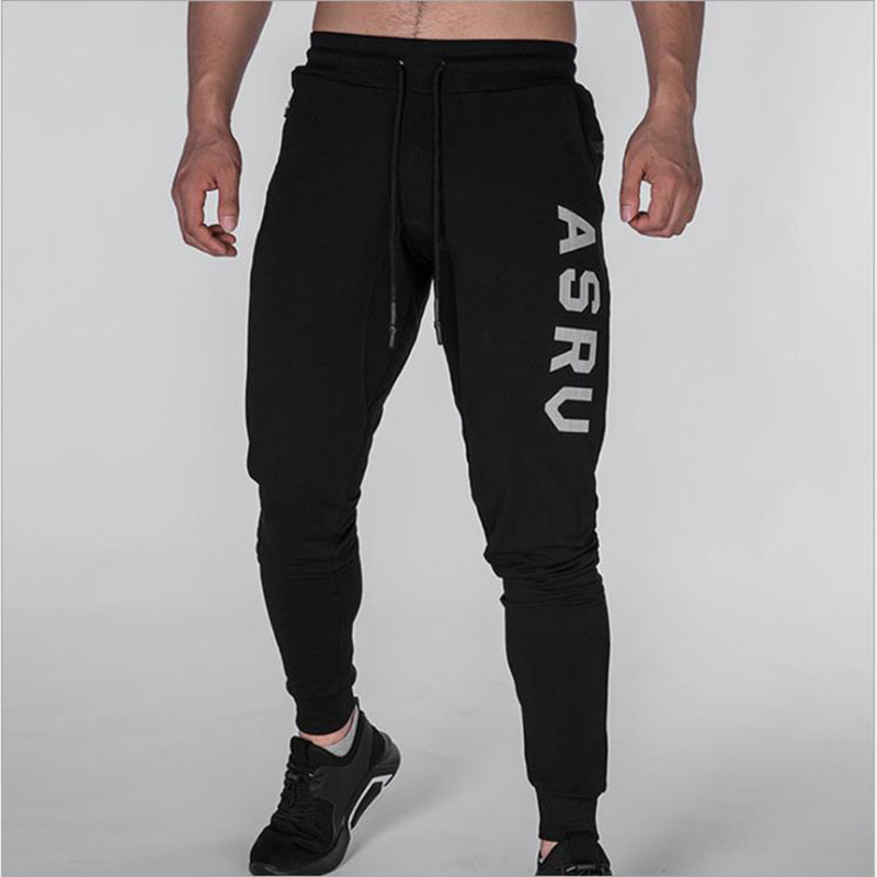 2018 Summer New Fashion Thin Section Pants Men Casual Trouser Jogger Bodybuilding Fitness Sweat Time Limited Sweatpants