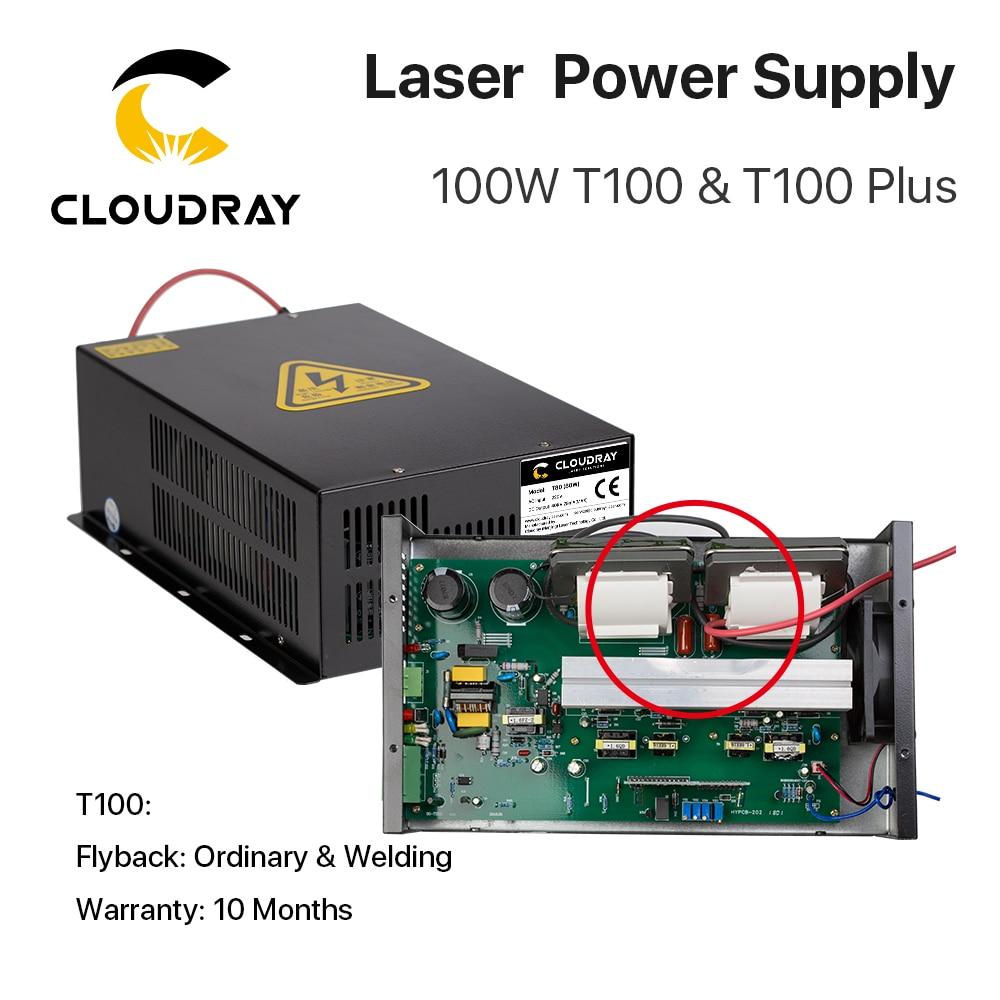 """""""Cloudray"""" 80W – 100W CO2 lazerio energijos tiekimo šaltinis - Medienos apdirbimo mašinų dalys - Nuotrauka 2"""