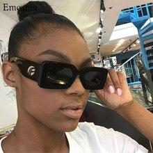 Square Sunglasses Men Shades Vintage Women Brand Designer Rectangle Retro Female New-Fashion