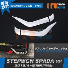 4 шт Стайлинг автомобиля чехол для honda stepwgn rp 1/4 2015