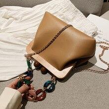 Маленькая женская сумка на цепочке, новинка, популярная женская сумка Chaohan, модная сумка