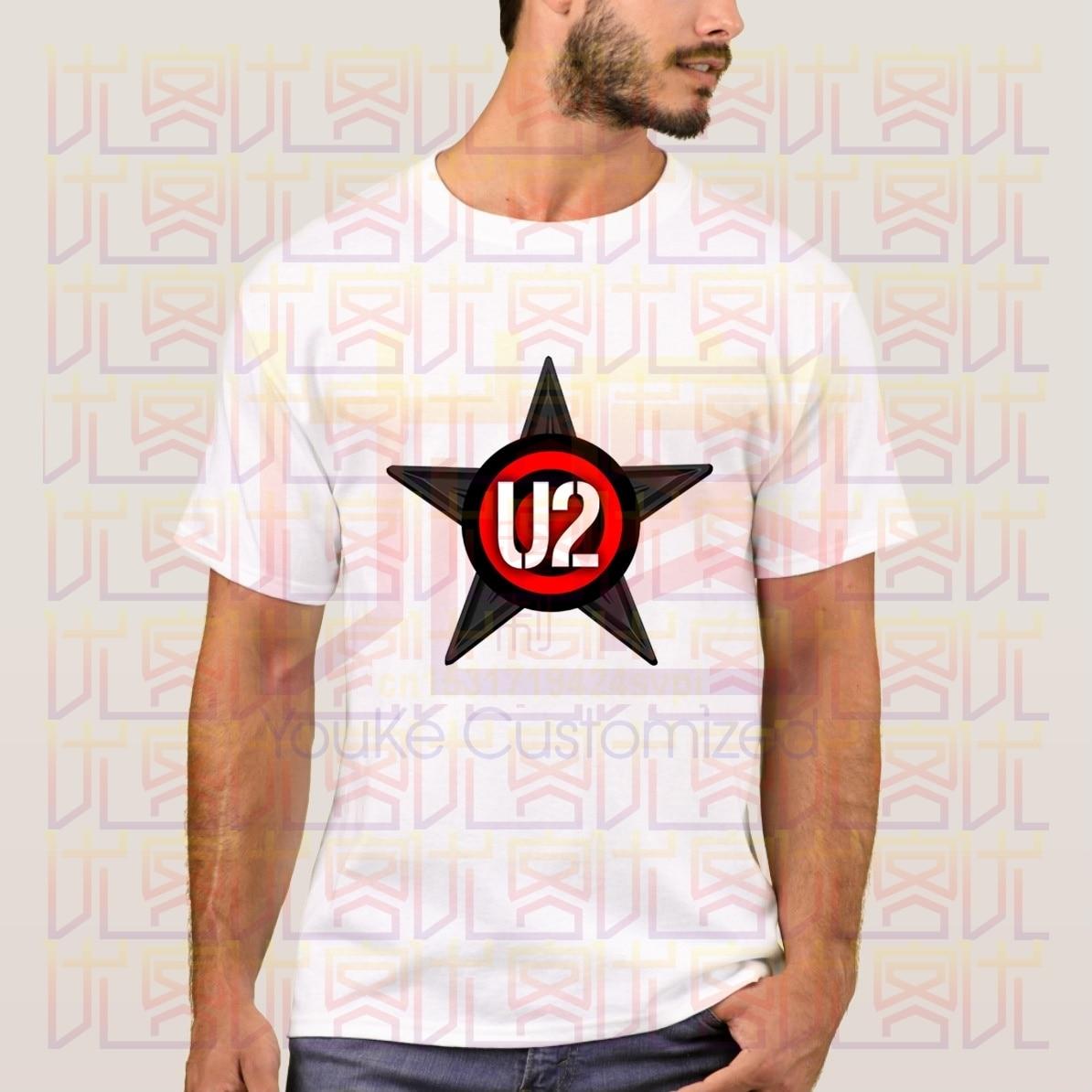 Новейшая модель 2020 года, летняя виниловая футболка с логотипом Joshua Tree U2 Band, 100% уличная хлопковая футболка, футболки Топы Homme S-4XL