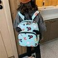 Детские школьные сумки Микки и Минни  детские школьные сумки для детского сада  Детские нейлоновые рюкзаки для мальчиков и девочек