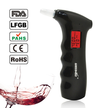 Breathalyzer Alcohol-Tester Police Professional Digital Quick-Response LCD Handheld 65s
