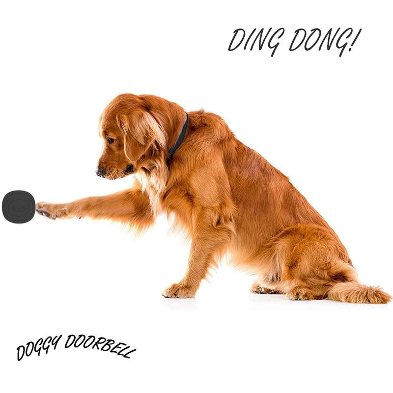 Pet Dog Doorbells Wireless Door Bell House-Training Multifunction Sensor Motion (Receiver & Transmitters) Training Tool US Plug-2