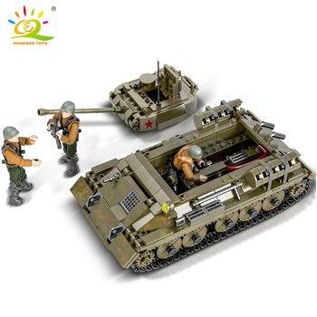 "Конструктор HUIQIBAO ""Танк Т-34"", 854 шт. 5"