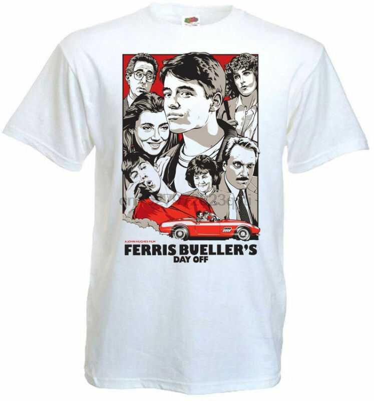 Ferris Buellers Hari V6 T-shirt Poster Semua Ukuran S5XL
