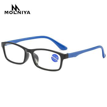 2020 okulary do czytania mężczyźni Anti Blue Rays okulary do czytania Antifatigue okulary komputerowe z + 1 5 + 2 0 + 2 5 + 3 0 + 3 5 + 4 0 tanie i dobre opinie MOLNIYA WHITE WOMEN Unisex Lustro 5 2cm Z tworzywa sztucznego P168 Octan