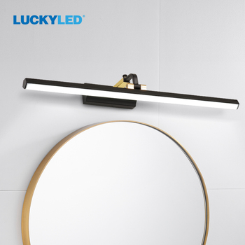LUCKYLED Wall Light Fixture AC85-265V Wall Light for Bedroom  8W12W Indoor Wall Lights Modern Wall Lamp Bathroom Wall Light Led l40cm l60cm l70cm l90cm l110cm led wall lamp bathroom mirror light waterproof modern acrylic wall lamp bathroom lights ac85 265v