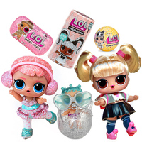 Original LOL SURPRISE dolls DIY lol dolls Ball with Genuine box Puzzle toys Capsule girl toy surprise egg blind box