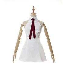 Cosdaddy sete pecados elizabeth liones vestido branco cosplay traje anime traje