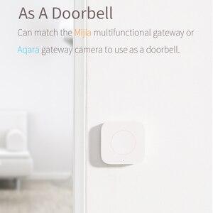 Image 2 - Aqara Smart Wireless Switch Remote Control Aqara Switch One Key Control ZigBee Intelligent Application For Xiaomi home mijia App