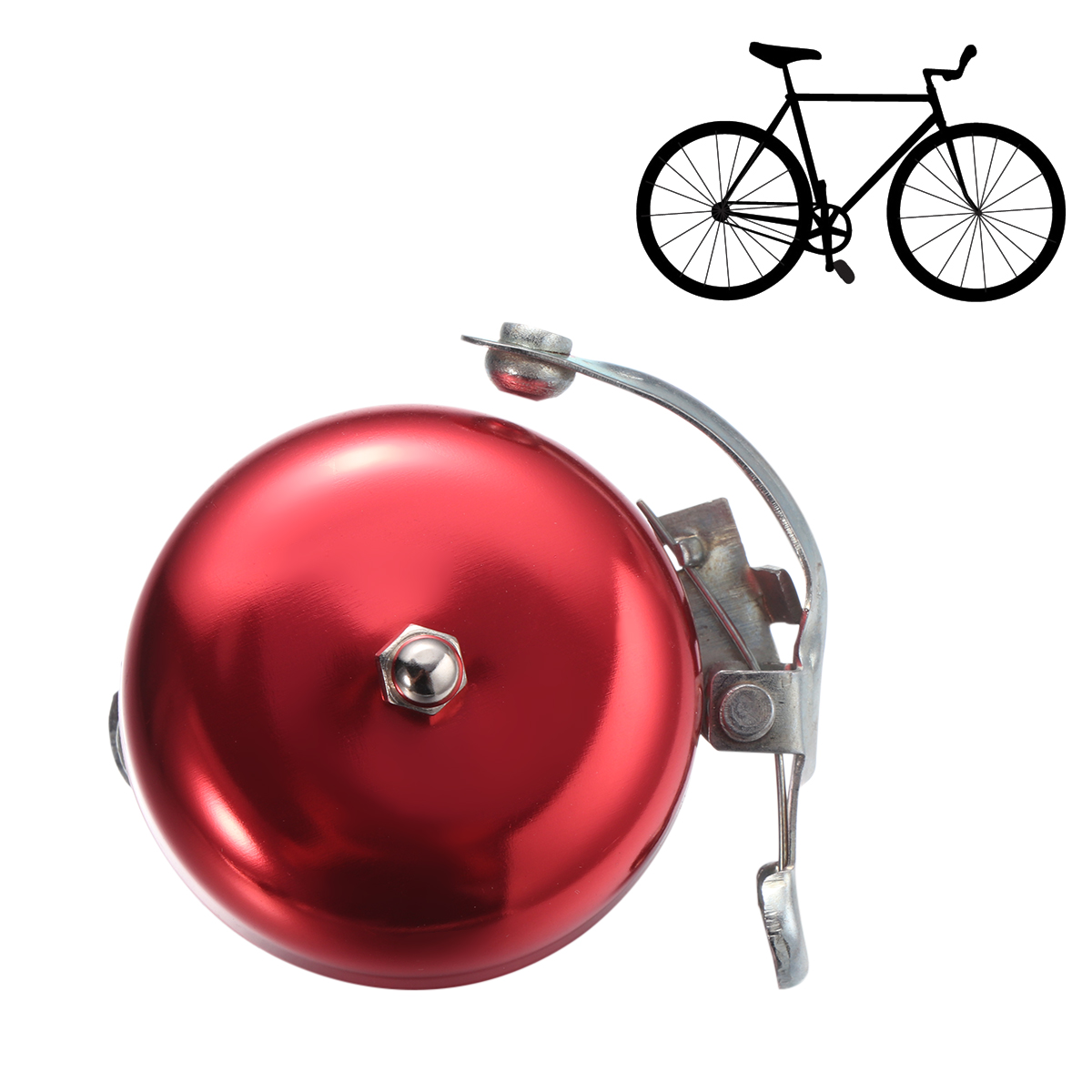 1pc Practical Creative Mountain Bike Bell Super Ring Horn for Families Friends
