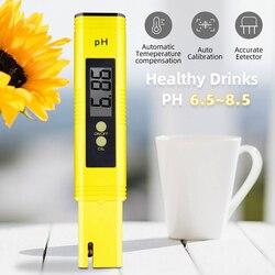 Измеритель качества воды для бассейна, аквариума, высокоточный цифровой РН-тестер 0,01 PH, подходит для определения кислотности вина, мочи с ав...