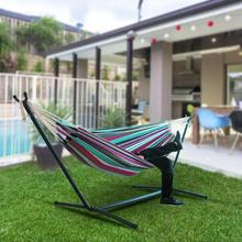 Hanging Garden Chair Hammock Large Hammock With Steel Stand For Garden Courtyard Swing Chair Hammock Outdoor without Shelf