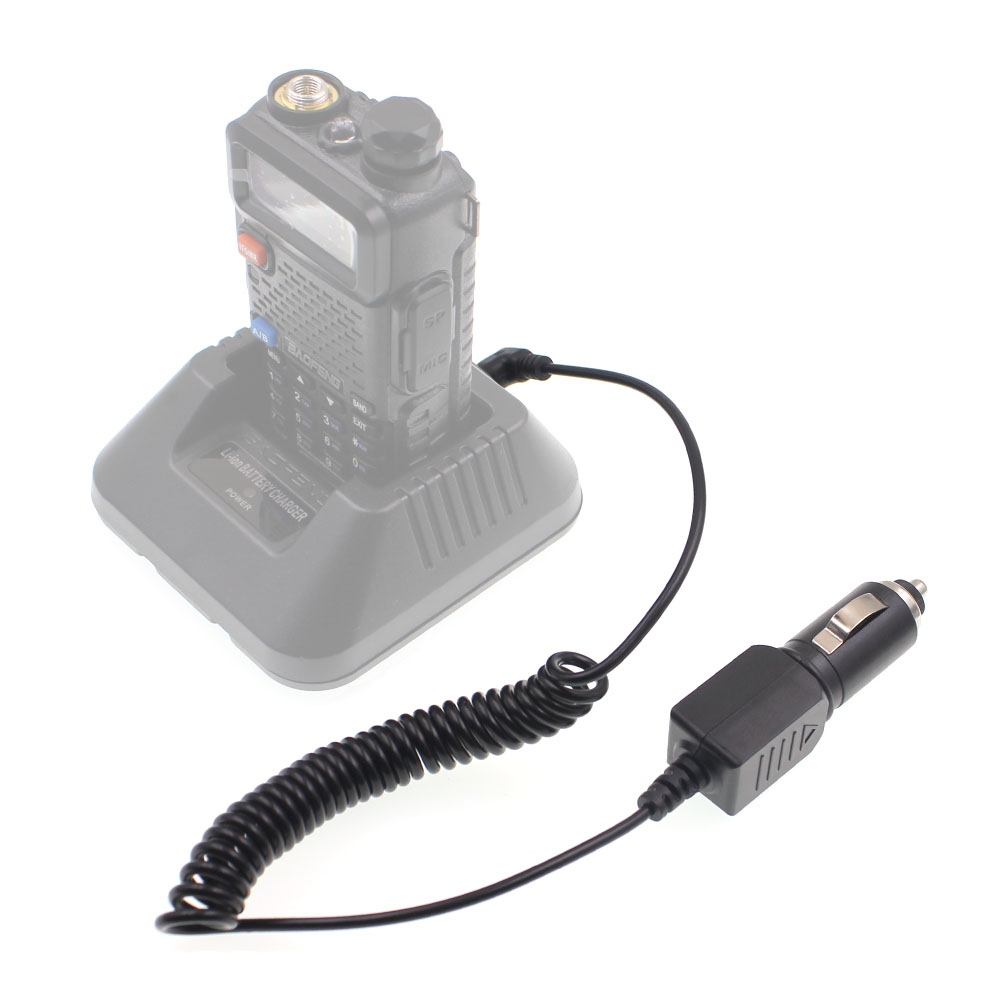 ANYSECU CCX-19 Charger Cable For Baofeng UV-5R UV-82 UV-9R UV-9Rplus UVB2 PTT Two Way Radio Walkie Talkie