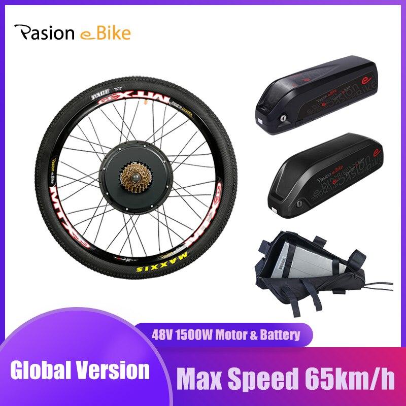 48В 1500 Вт мотор для электрического велосипеда с аккумулятором 52 в 20,3 Ач комплект для переоборудования электрического велосипеда с аккумулятором|Двигатель для электровелосипедов|   | АлиЭкспресс
