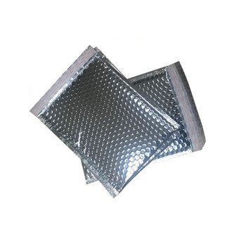 30PCS/LOT 20x25cm Silver Aluminum foil Envelope Bags , Waterproof packing Bag/ Padded bubble express mailer bag