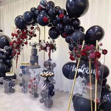 90pcs DIY Balloon Garland Arch Kit Navy Blue Gold Balloon for Birthday Baby Shower Weddings Theme Party Decoration карликовое дерево 1 90pcs diy
