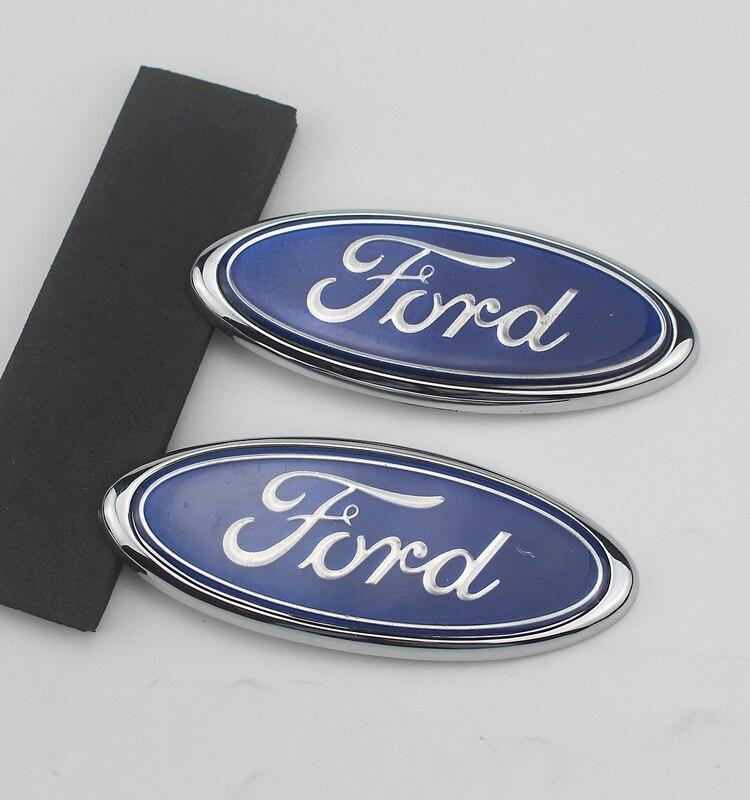 شبكة أمامية جديدة للسيارة ذات علامة قيادية على شكل وجه أمامي للسيارة بمعايير أمامية وخلفية لسيارة Ford Logo 2 3 4 5 mk2 mk3 mk4 mk5 mk7 Ranger fiesta