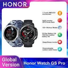 Nova versão global honra relógio gs pro relógio inteligente 1.39 screen amamoled tela monitoramento de freqüência cardíaca oxigênio no sangue chamadas bluetooth 5atm