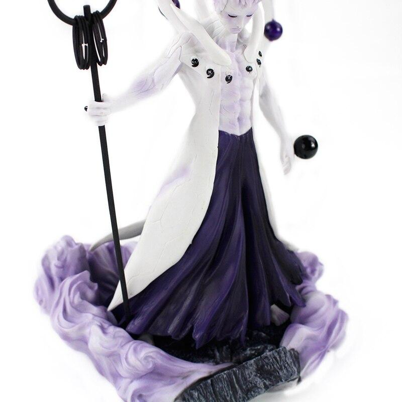 25-27cm Naruto Figure Statue Uchiha Obito Rikudou Sennin Decoration Toys PVC Collection Model Doll Gift 45