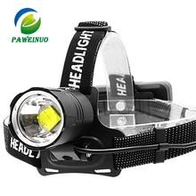 90000 lumenów XHP70.2 najbardziej potężny doprowadziły reflektor ładowania usb reflektor wodoodporny skorzystaj z 3*18650 baterii latarka akumulatorowa lampa