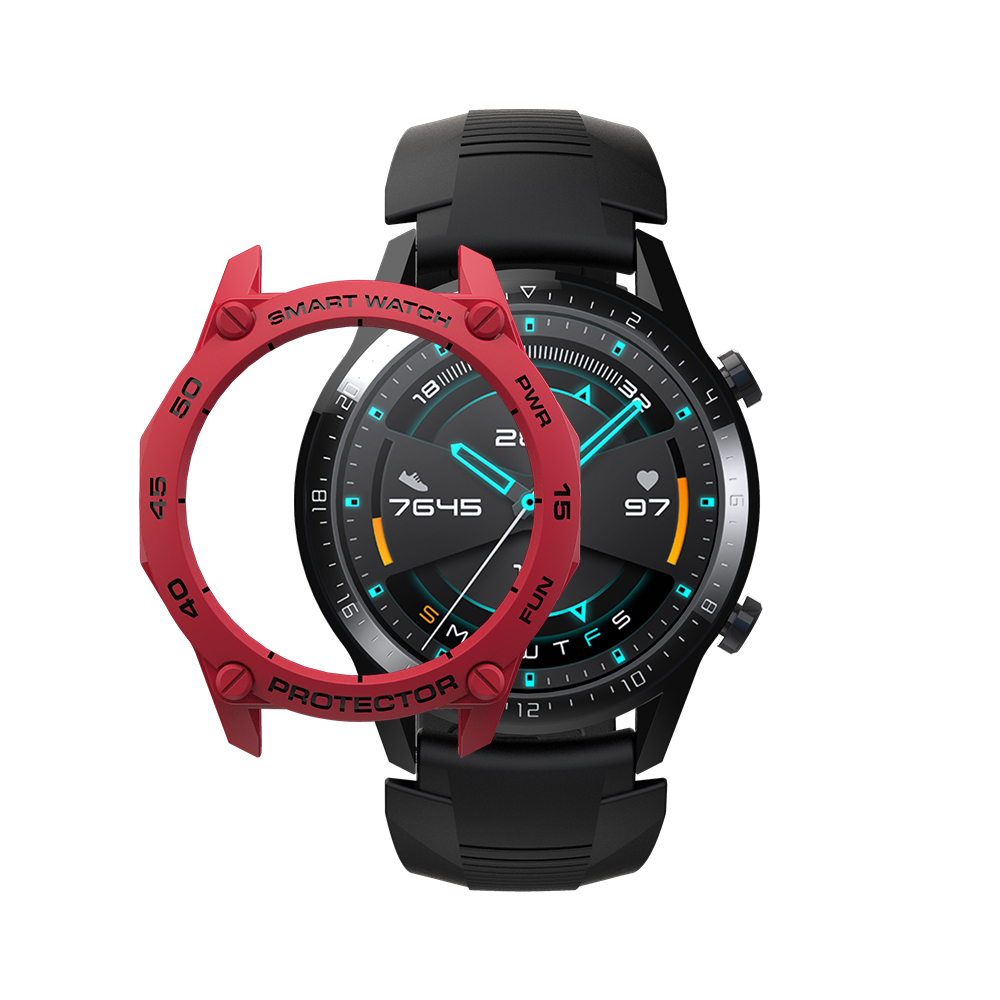 Case For Huawei Watch GT2 Colorful Smart Watches Cover TPU Shell GT 2 46mm Protector SIKAI Sport Accessories