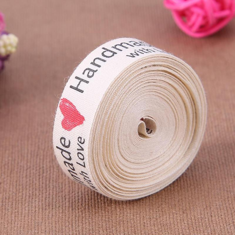 5-10 Yard Printed Cotton Ribbon Music Note 15mm Handmade Home DIY Sewing Craft