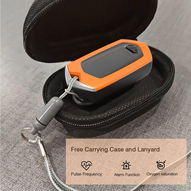 BOXYM Finger Pulse Oximeter Pulsioximetro SpO2 PR OLED Rechargeable CE Medical Oximetro De Dedo Heart Rate Monitor 1