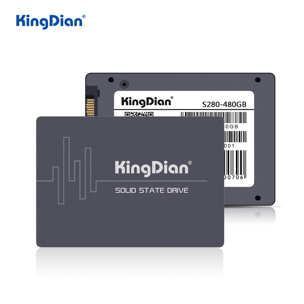 KingDian SSD 128gb 256gb 512gb 1tb SSD SATA SATAIII Hard Drive HDD 2.5 SSD 120gb 240 Gb 480gb 60gb Internal Solid State Drives