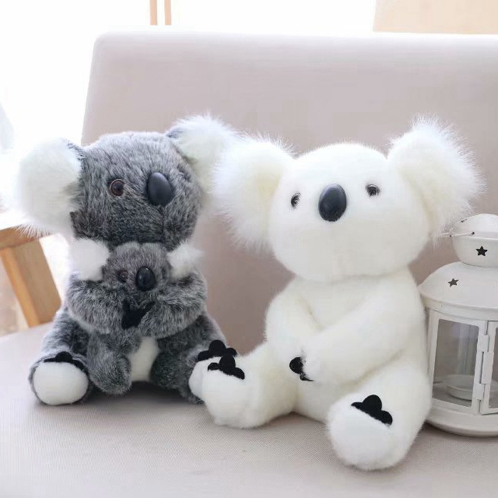16CM New Arrival Super Cute Small Kawaii <font><b>Koala</b></font> <font><b>Bear</b></font> <font><b>Plush</b></font> Toys Adventure <font><b>Koala</b></font> Doll Birthday Christmas Gift For Girls Baby image