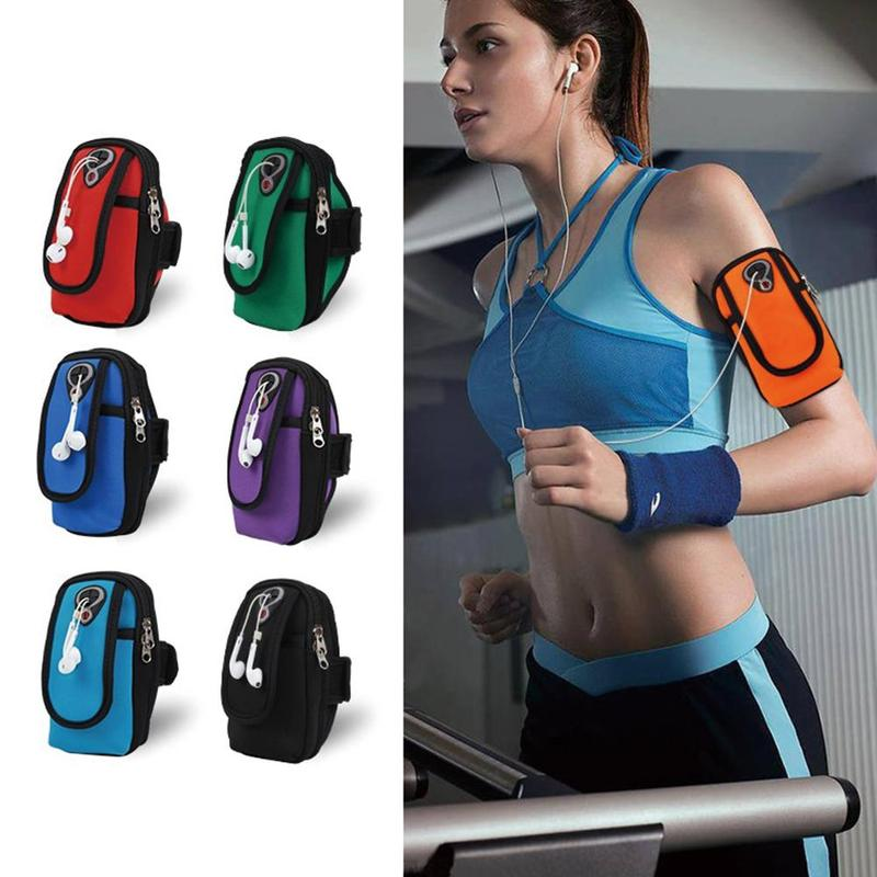 Waterproof Running Arm Band Bag Holder Sport Armband Phone Pouch Universal Brassard Running Gym Sport Armband Case