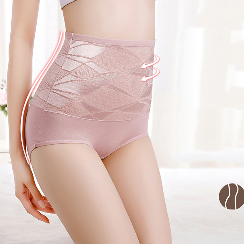 Women Shapers Solid Color Seamless High Waist Shapewear Tummy Control Corset Briefs Magic Body Shapewear Lady Corset Underwear