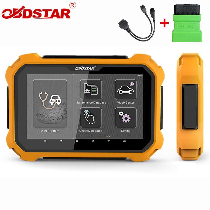 OBDSTAR X300 DP X300DP PLUS Tablet klucz programujący Auto narzędzie diagnostyczne X300 DP Plus z programatorem P001