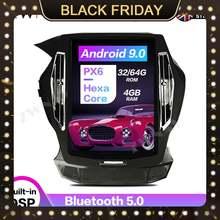 Android9 tesla стиль Автомобильный gps навигатор для honda accord