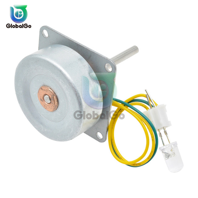 Micro Three Phase AC Wind Generator Turbines Brushless Motor Hand Cranked Generator 3-24V 0.1A-1A 0.5-12W RPM3000-6000 LED 1