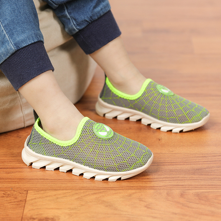 Summer Kids Shoes For Boys Casual Mesh Shoes Children Sneakers  Soft Breathable Light Girls Running Sports Shoes 2019 New Autumn