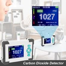 Carbon Dioxide CO2 Detector Infrared Sensor Detecting Tool Portable CO2 Tester Analyzer for Carbon Dioxide Air Quality Detector